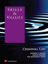 Skills & Values: Criminal Law cover