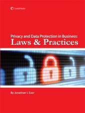 Privacy and Data Protection in Business: Laws and Practices cover