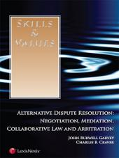 Skills & Values: Alternative Dispute Resolution cover