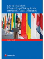 Lost in Translation: Effective Legal Writing for the International Legal Community cover