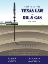 Primer on the Texas Law of Oil and Gas cover