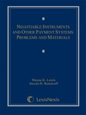 Negotiable Instruments and Other Payment Systems: Problems and Materials, 2004 cover