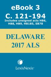 Delaware Advance Legislative Service cover