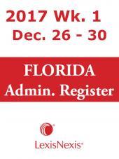 LexisNexis Florida Administrative Register cover