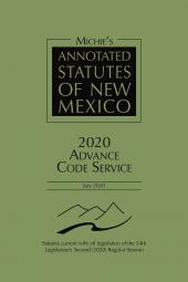 Michie's Annotated Statutes of New Mexico: Advance Code Service cover