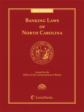 Banking Laws of North Carolina, 2012 Edition cover