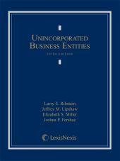 Unincorporated Business Entities, Fifth Edition (2013) cover