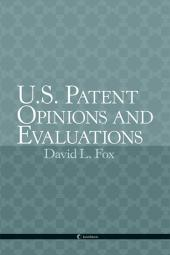 U.S. Patent Opinions & Evaluations cover