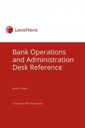 Bank Operations and Administration Desk Reference cover