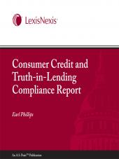 Pratt's Consumer Credit and Truth-in-Lending Compliance Report cover