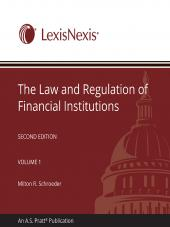 The Law and Regulation of Financial Institutions cover