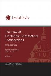 The Law of Electronic Commercial Transactions cover