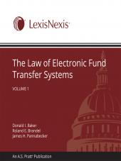 The Law of Electronic Fund Transfer Systems cover