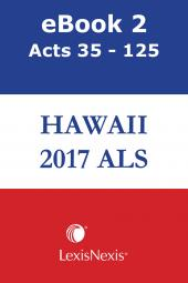 Hawaii Advance Legislative Service cover