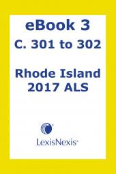 Rhode Island  Advance Legislative Service cover