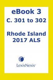 Rhode Island  Advance Legislative Service cover