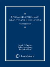 Special Education Law: Statutes and Regulations Document Supplement cover
