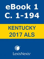 Kentucky Revised Statutes Advance Legislative Service cover