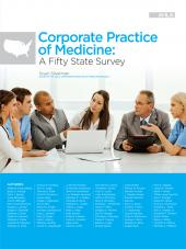 AHLA Corporate Practice of Medicine: A Fifty State Survey (AHLA Members) cover