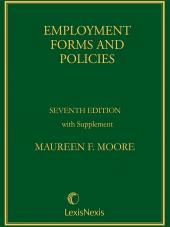 Employment Forms and Policies cover