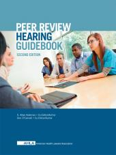 AHLA Peer Review Hearing Guidebook (Non-Members) cover