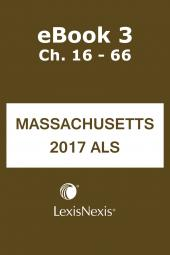 Annotated Laws of Massachusetts: Advance Legislative Service (ALM ALS) cover