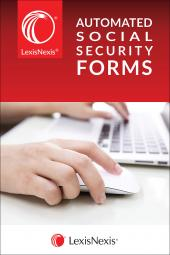 LexisNexis® Automated Social Security Forms cover