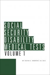 Social Security Disability Medical Tests cover