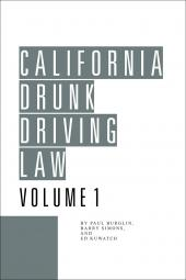 California Drunk Driving Law cover