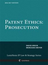 Patent Ethics: Prosecution cover