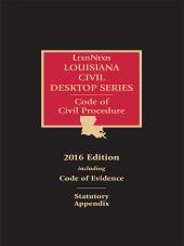 Louisiana Code of Civil Procedure cover