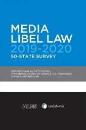 Media Libel Law 50-State Survey (MLRC Members Only) cover