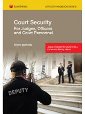 Court Security for Judges, Officers and Court Personnel cover