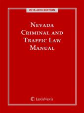 Nevada Criminal and Traffic Laws cover