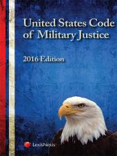 United States Code of Military Justice cover