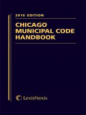Chicago Municipal Code Handbook cover