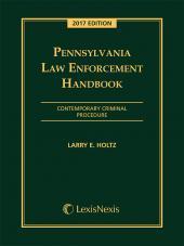 Pennsylvania Law Enforcement Handbook cover