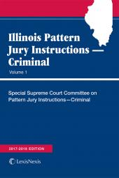 Illinois Pattern Jury Instructions -- Criminal cover