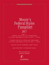 Moore's Federal Rules Pamphlets, Parts 1 - 4 cover
