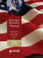 Veterans Benefits Manual, 2016 Edition cover