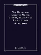 New Hampshire Selected Motor Vehicle, Boating and Related Laws Annotated cover