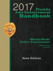 Florida Law Enforcement Handbook with Traffic Laws Reference Guide cover