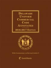 Delaware Uniform Commercial Code Annotated cover