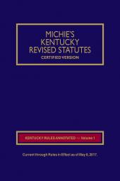 Michie's Kentucky Court Rules Annotated cover