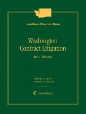 LexisNexis Practice Guide: Washington Contract Litigation cover