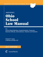 Anderson's Ohio School Law Manual, 2017 Edition cover