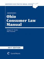 Anderson's Ohio Consumer Law Manual cover