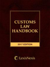 Customs Law Handbook cover