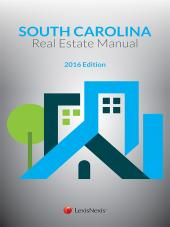 The Manual of South Carolina Real Estate cover
