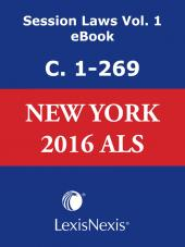 New York Consolidated Laws Service, 2016 Session Laws cover